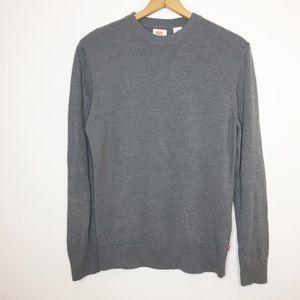 Levi's Gray crewneck sweatshirt Size large EUC